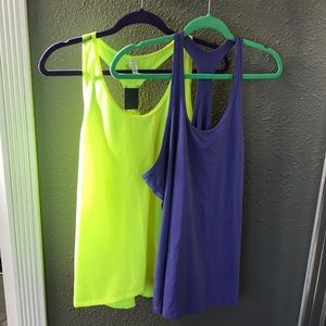 2 XL Nike and Under Armour Workout Tanks